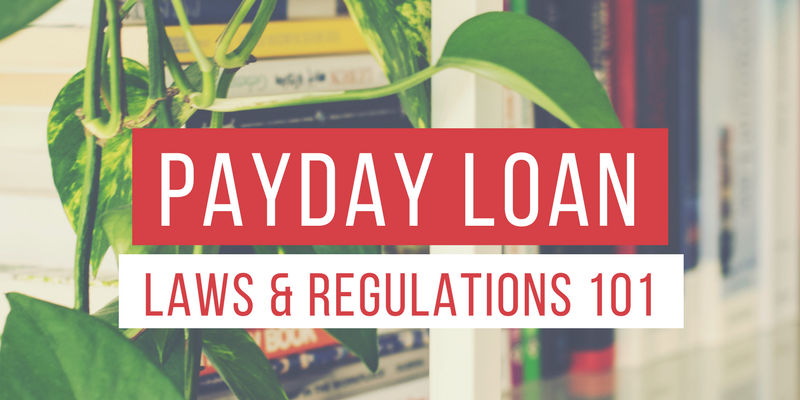 payday loans regulations